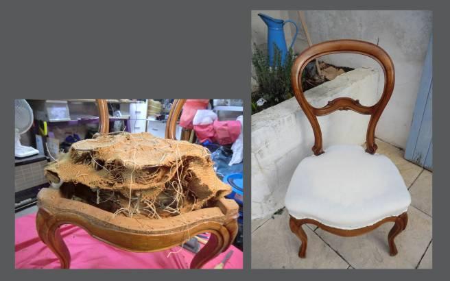 chaise avant apres